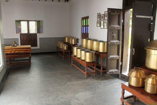 Kanadukathan, Hindistan: Kitchen in the hotel