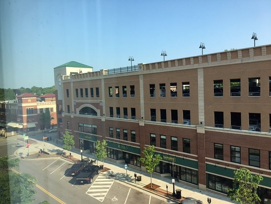 Kent State University Hotel & Conference Center: view from front window