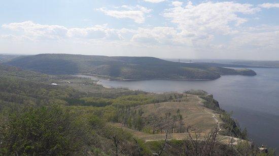 Zhiguli, Ρωσία: Девичья гора