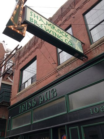 Shamrock Brewing Co: Great selection of brews