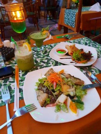 Tropical Restaurant Mengiat Photo