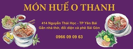 Yen Bai, Vietnam: Cover Bún Bò Huế O Thanh - 414 Nguyễn Thái Học street, đầu cầu Yên Bái