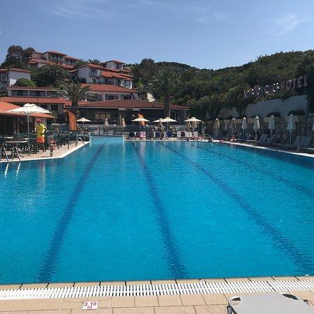 Aristoteles Holiday Resort & Spa: Beautiful sunset