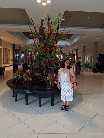 Sofitel Fiji Resort & Spa: reception area