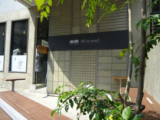 Minimal Tomigaya Honten: You can seat outside as well!