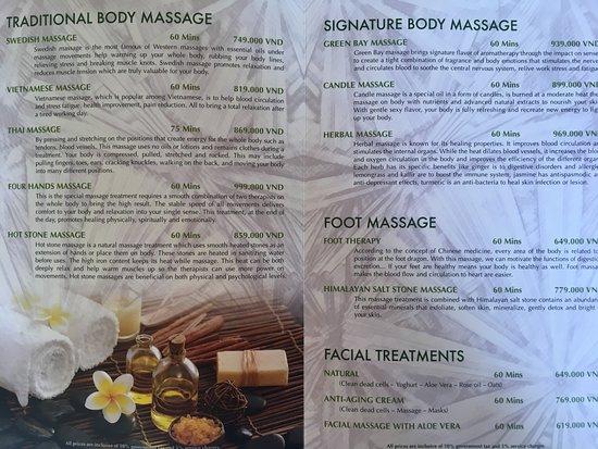 Ong Lang, Wietnam: Massage