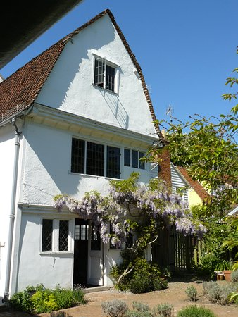 Coggeshall, UK: Paycocke's House, rear view.