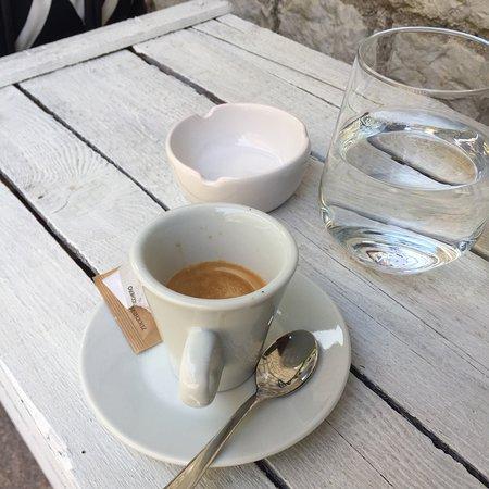 Nago-Torbole, إيطاليا: Caffè di cortesia prima di andare via ❤️