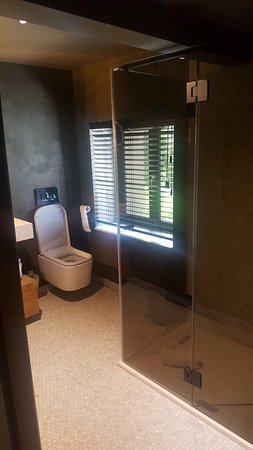 """Le Sanglier Des Ardennes: """"Deluxe Room"""" - just XL shower no tub"""