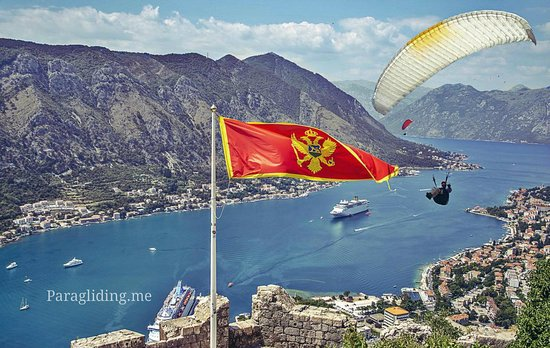 Becici, Μαυροβούνιο: Welcome to paragliding in Montenegro!