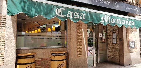 Fa ade du restaurant fotograf a de casa montanes zaragoza tripadvisor - Casa montanes zaragoza ...
