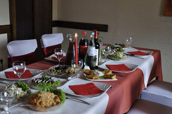 Dillingen, Германия: unser Tisch