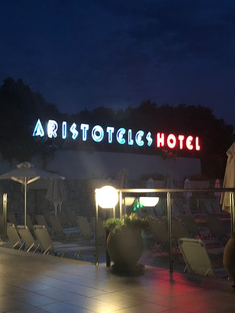 Aristoteles Holiday Resort & Spa: View from dining