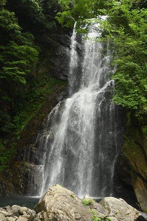 Nishiizu-cho, Japonia: 滝はこんな感じです