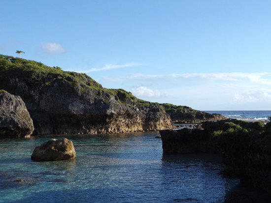 Limu Pools. Niue