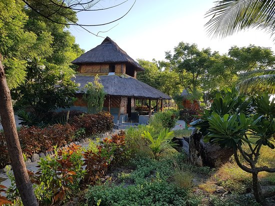 Atauro, Timor Wschodni: Two storey bungalows are great for families.