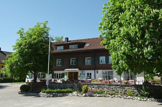 Niedersonthofen, Germany: der Biergarten im Sommer richtig toll