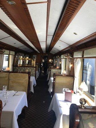 รถไฟหิรามบิงแฮม: Interior de un9 de los vagones