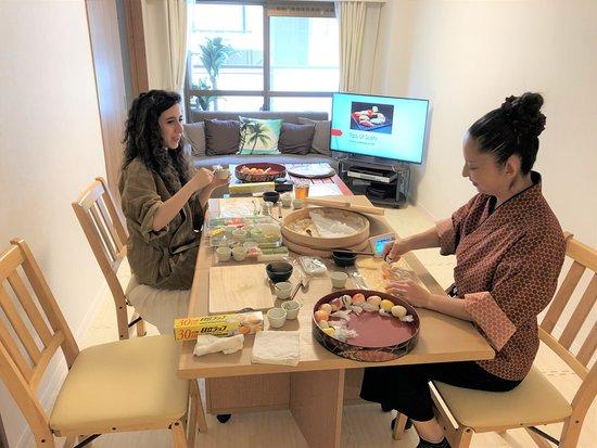 Cooking Class Japan Cross Bridge照片