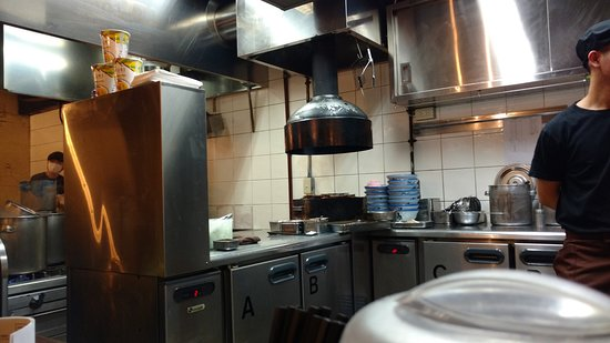 Afuri Ebisu: Kitchen