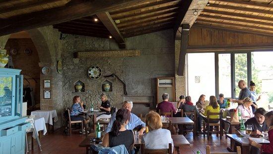 La salle - Foto di Bel Soggiorno, San Gimignano - TripAdvisor