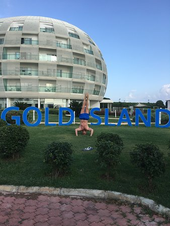 Foto de Gold Island Hotel