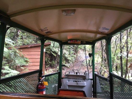 Hunua, ניו זילנד: Driving Creek Railway