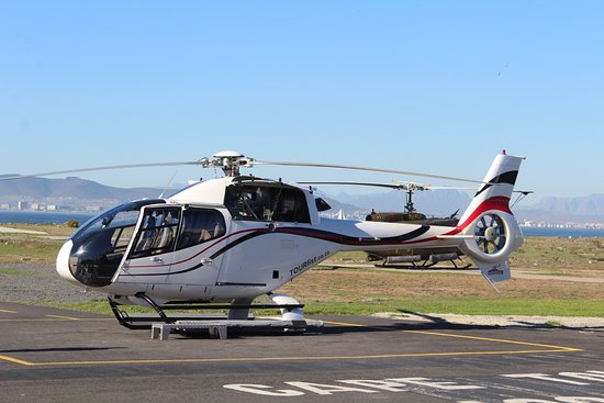 Two Oceans Scenic Helicopter Flight from Cape Town: our helicopter
