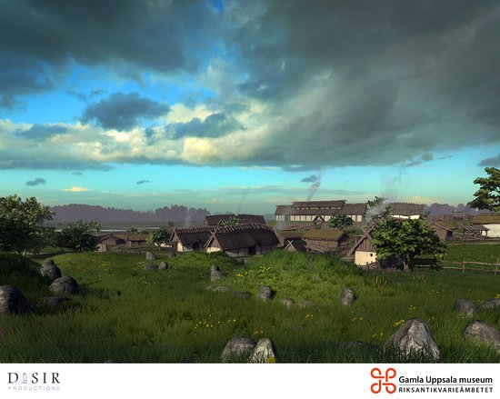 Old Uppsala Museum: From our Virtual Reality experience. Book in person at the museum if you want to try.