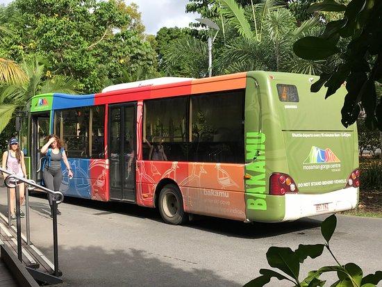Mossman Gorge bus service