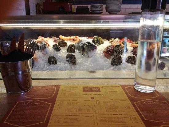 Barra pescheria con cucina monterotondo ristorante - Barra attrezzata cucina ...
