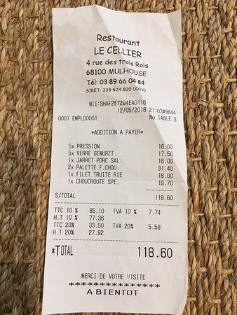 Restaurant le cellier mulhouse restaurant avis num ro - Numero caf mulhouse ...