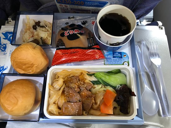 China Airlines: 剛剛好的機上餐點