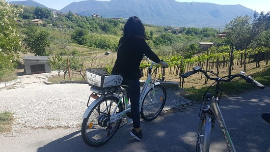 Guardia Sanframondi, Italy: noleggio bici elettrica