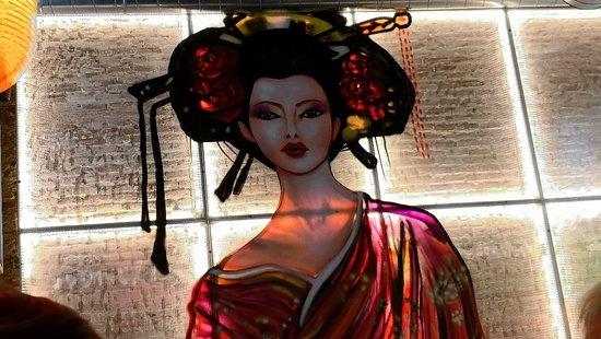 Oishii Ramen Street: Detalle pared