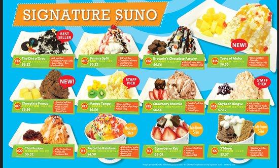 SunO Dessert : Signatures