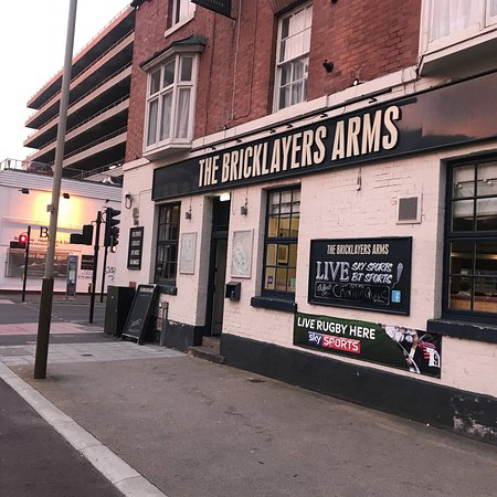 Leicester, UK: The Bricklayers Arms