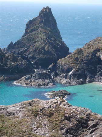 Ruan Minor, UK: A day out to Kynance Cove.