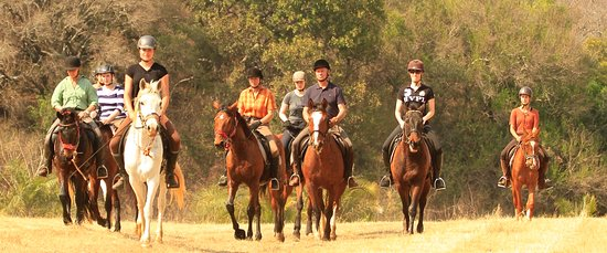 Pongola, Южная Африка: Horse riding in the Pakamisa Reserve