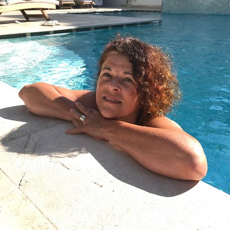 Ecclesia Boutique Hotel: Taking a dip to cool down in the Ecclesia's swimming pool