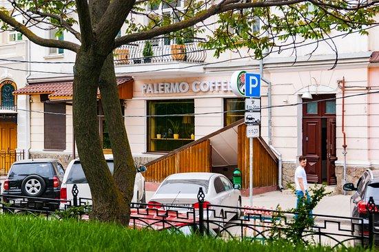 Brew Bar Palermo Coffee: фасад