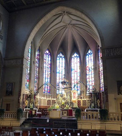 Notre Dame Cathedral (Cathedrale Notre Dame): Innen