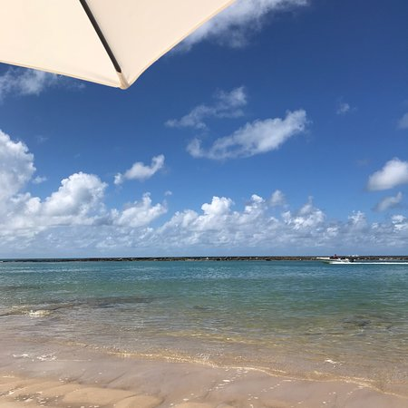 Barra de Sao Miguel Beach: Águas mornas e calmas. Uma grande piscina natural.