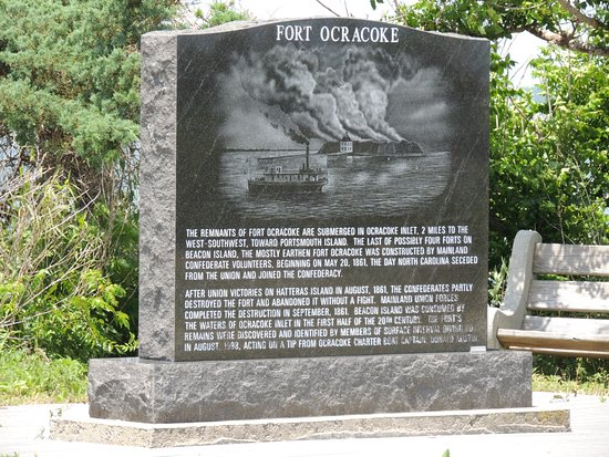Fort Ocracoke Monument