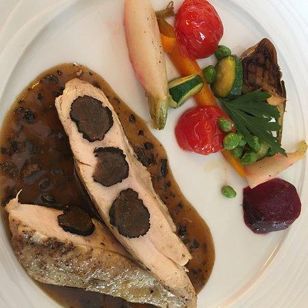 Chateau-Arnoux, Frankrike: Un délicieux repas