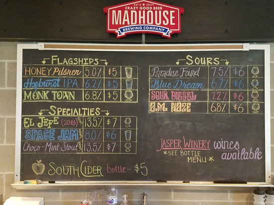 Madhouse Brewery - Des Moines, IA