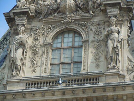 Μουσείο του Λούβρου: Cariatides du Pavillon Turgot