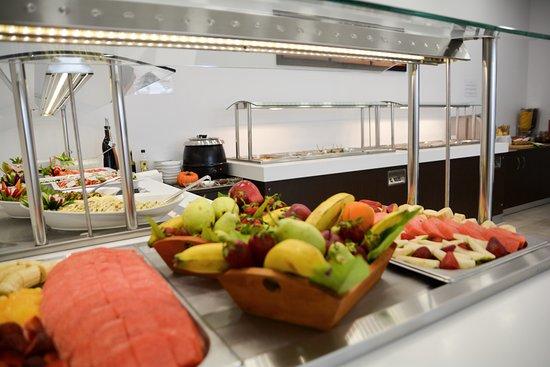 Belvedere Hotel Agia Pelagia: dinner buffet