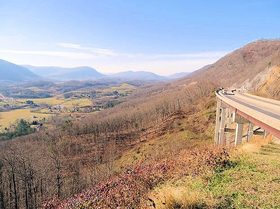 Big Stone Gap, VA: view of bridge