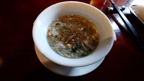 Chinese Restaurant Koromu: ランチコース(スープ)